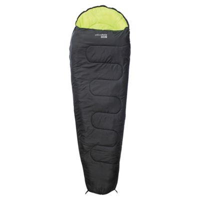 Yellowstone 150gsm Mummy Sleeping Bag Black