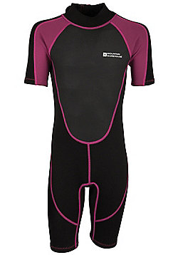 Mountain Warehouse Junior Shorty Wetsuit - Pink