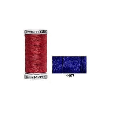 Gutermann Sulky Cotton 300m Medium Navy