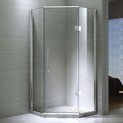 Buy Desire Ten Hinged Pentagonal Shower Door With Side Panels
