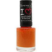 Rimmel I Love Lasting Finish Nail Polish 8ml - 504 It's A Scorcher