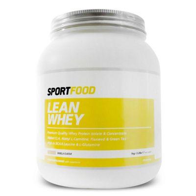 Sportfood Lean Whey 1kg - Vanilla