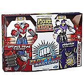 Transformers Optimus Prime and Megatron Battle Masters Action Figure