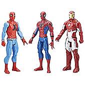 Spider-Man Marvel Titan Hero 3-pack