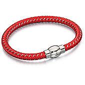 Fred Bennett Red Woven Bracelet
