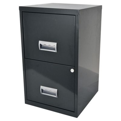 Pierre Henry A4 2 drawer Maxi Filing Cabinet Granite