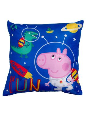Peppa Pig George Planets Reversible Cushion