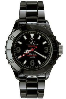 ToyWatch Gents Ceramic Black Bracelet Watch CM02BK