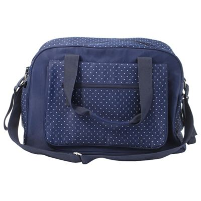 Summer Infant Baby Changing Bag, Navy Polka Dot