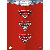 Cars 1-3 Dvd Box Set Dvd 3Disc