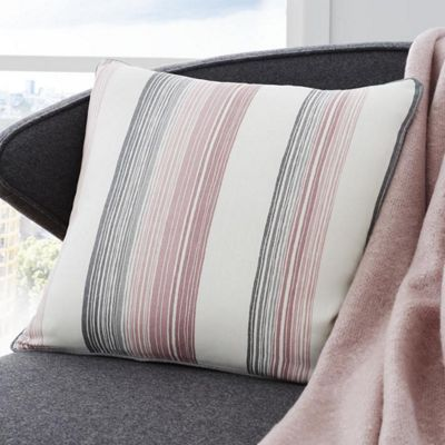 Fusion Rydell Stripe Blush 43x43cm Unfilled Cushion Cover