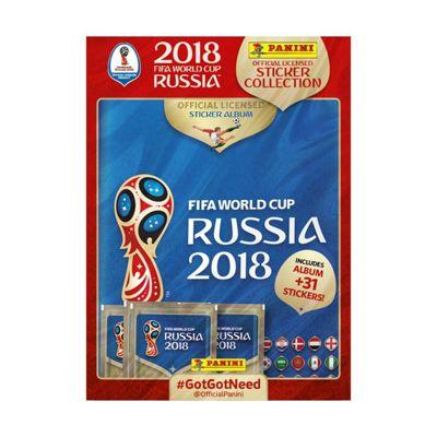 Panini FIFA World Cup 2018 Sticker Starter Pack