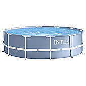 Intex 12ft X 39in Metal Frame Pool Set Including Ladder