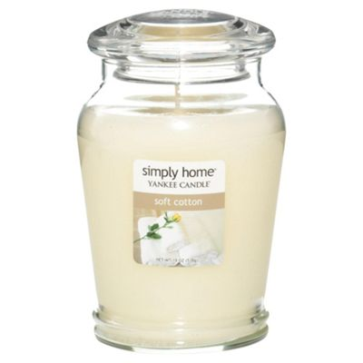 Yankee Candle Jar Soft Cotton, Large