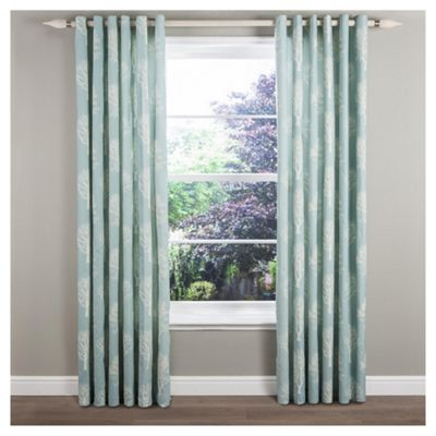 Woodland Eyelet Curtains W117xL183cm (46x72