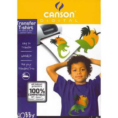 Canson T-Shirt Transfer Paper For Dark Fabrics