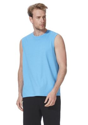 F&F Tank Vest Top with As New Technology Blue 2XL