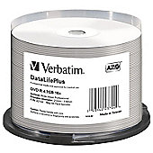 Verbatim DataLifePlus 43744 DVD Recordable Media - DVD-R, 50 Pack