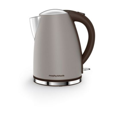 Morphy Richards 103004 Pebble Accents, Jug Kettle with 1.7L Capacity, and Rapid Boil Feature