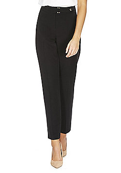 F&F Slim Leg Trousers - Black