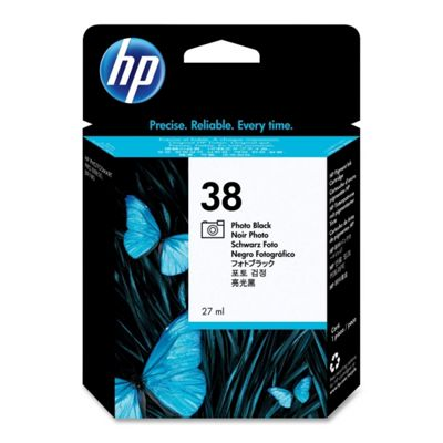 HP 38 Photo Pigment Ink Cartridge - Black