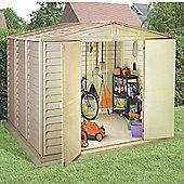 BillyOh WoodBridge Plastic Storage Shed Inc Foundation Kit - 10x8