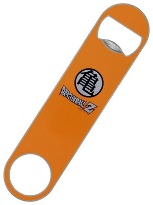 Dragon Ball Z Logo Bar Blade Bottle Opener 18 x 4cm, Orange