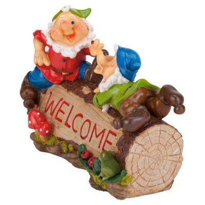 Gnome Welcome ornament