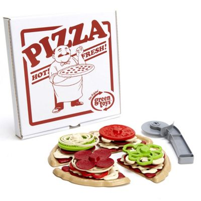 Green Toys Pizza Parlour - Pretend Play Food