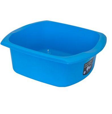 Addis Rectangular Washing Up Bowl - 9.5 Litre - Blue
