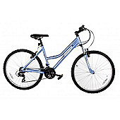 "Reflex Santorini 26"" Wheel Alloy Frame Mountain Bike 19"" Frame Blue"