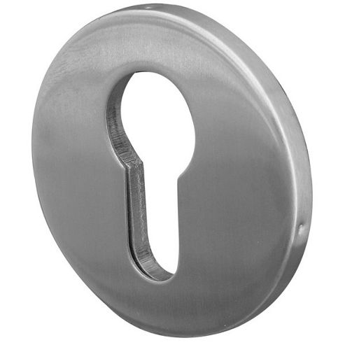 Jedo Satin Stainless Steel 52Mm X 5Mm Rose - Euro Profile Concealed Stainless Escutcheon