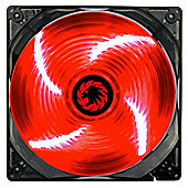 Game Max Sirocco (120mm) Red LED Chassis Fan