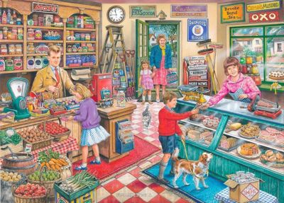 Find the Difference 11 - General Store - 1000pc Puzzle