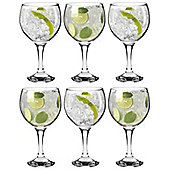 Rink Drink Gin Balloon Cocktail Glasses - 645ml (22.7oz) Pack of 6 Glasses