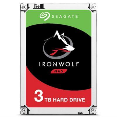 3TB Seagate IronWolf NAS Hard Drive 3.5 SATA III 6GBs 5900RPM 64MB Cache