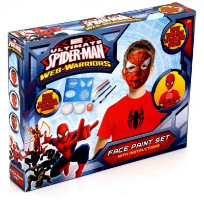 Ultimate Spider-Man Face Paint Set