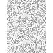 Fine Decor Wentworth Damask Wallpaper Grey / Silver FD41703