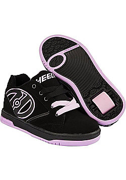 Heelys Propel 2.0 Black/Lilac Kids Heely Shoe - Black