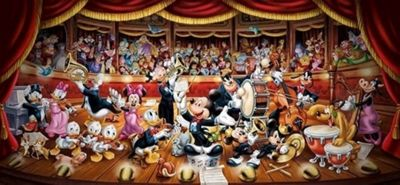 Disney - Orchestra - 13200pc Puzzle