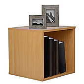 Christow Wooden Storage Cube 30cm (Beech)
