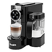 Dualit 85180 Caf Cino Capsule Coffee Maker with Milk Frother in Black