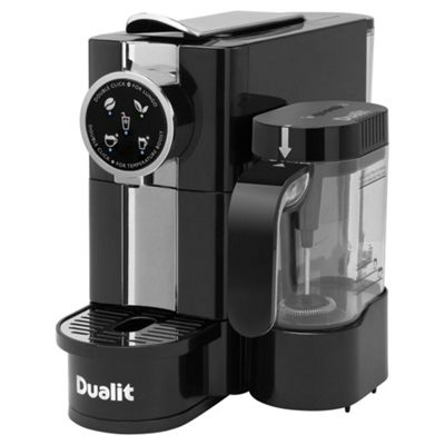 Buy Dualit 85180 Caf Cino Capsule Coffee Maker with Milk ...