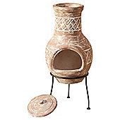 La Hacienda Kairos Small Clay Chimenea