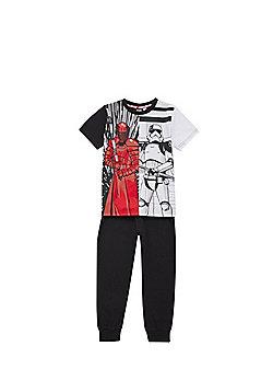 Star Wars Split Stormtrooper Print Pyjamas Set - Multi