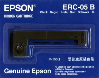 Epson ERC05B Ribbon Cartridge for M-150 M-150II black 1 pcs