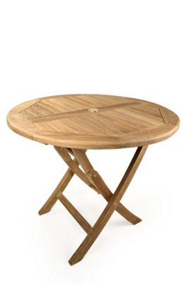 Bracken Style Whitley Easy Fold Dining Table