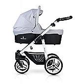 Venicci Soft 3 in 1 Travel System - Light Grey/White