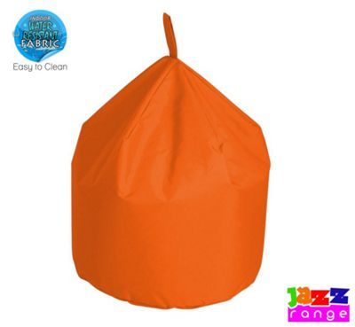 Happy Beds Bonkers Jazz Chino Bean Bag Orange