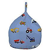 Bean Bag - Toy trucks